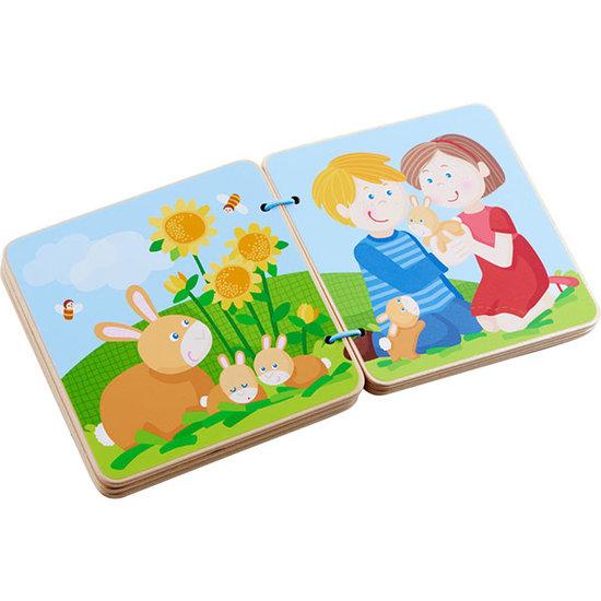 Haba Holz-Babybuch Tierkinder - Haba