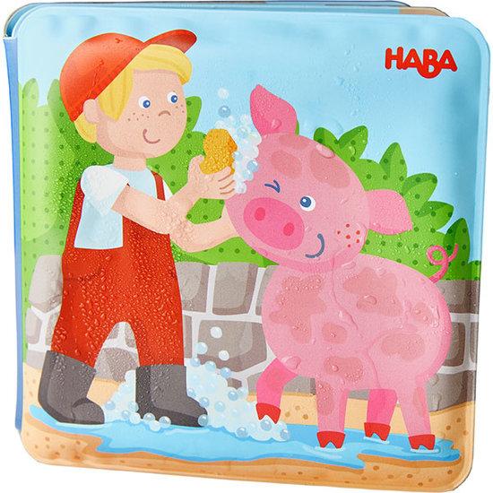 Haba Badboekje Wasdag bij Varkentje & Koe - Haba