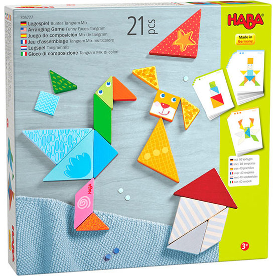 Haba Haba Legespiel Bunter Tangram-Mix