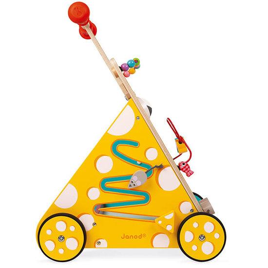 Janod speelgoed Janod activiteiten loopwagen kat