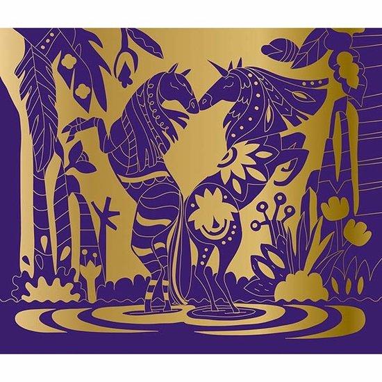 Janod speelgoed Janod kraskaarten paarden en eenhoorns