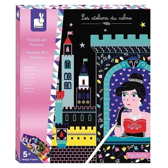 Janod speelgoed Janod kraskaarten prinsessen