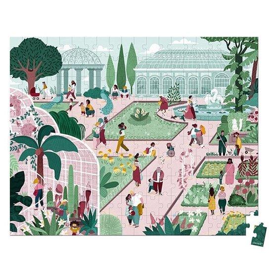 Janod speelgoed Janod puzzle Botanical Garden 200pcs +7yrs