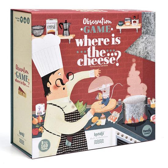 Londji Londji Where is the cheese - Memory-Spiel