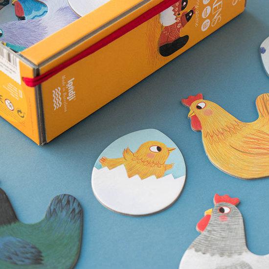Londji Londji memo Chicks and Chickens - memory spel