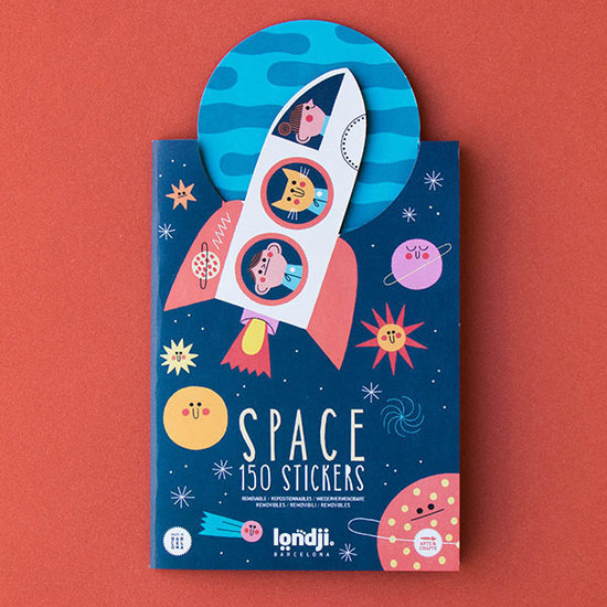 Londji Londji stickers Space 150st +3jr