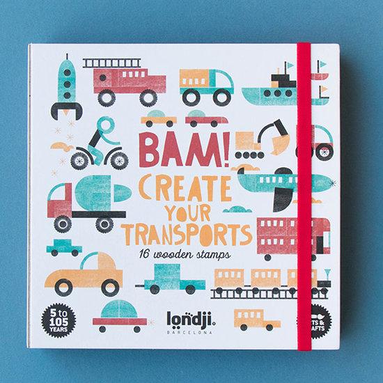 Londji Londji BAM! Transports Stempel-Set +5Jahre