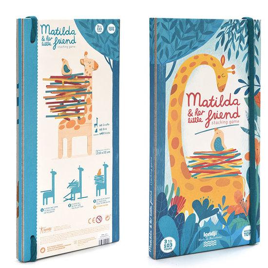 Londji Londji Matilda & friend stacking game +3yrs