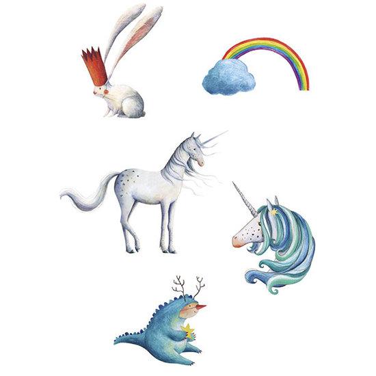 Londji Londji tattoos Unicorn - kindertattoos