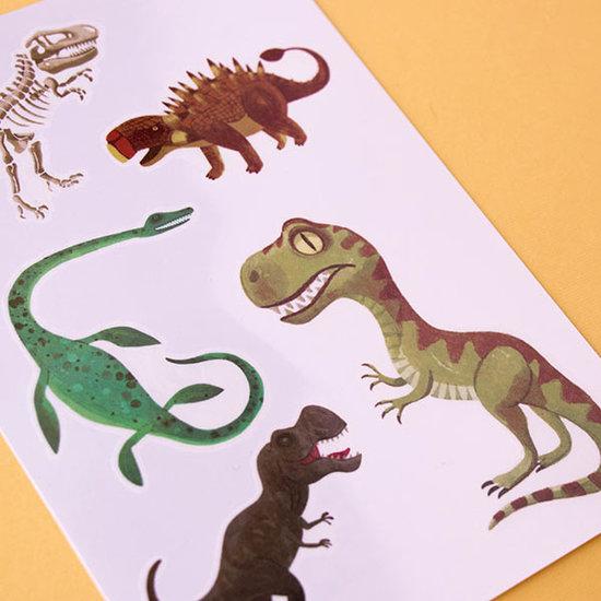 Londji Londji tattoos Jurassic - kids tattoos