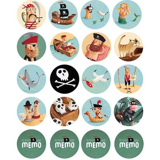 Londji Londji Memo I'm a pirate - Memory-Spiel