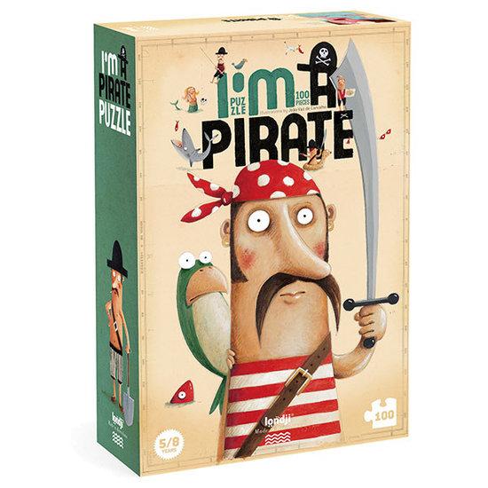 Londji Londji puzzel I'm a pirate 100st +5jr