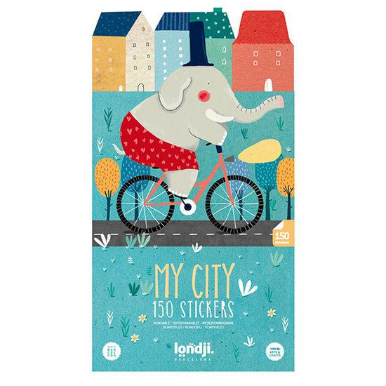 Londji Londji stickers My city 150pcs +3yrs