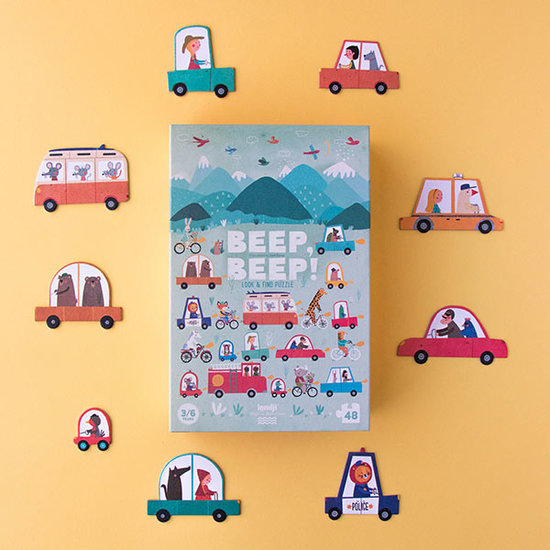Londji Londji puzzle Beep! Beep! 48pcs +3yrs
