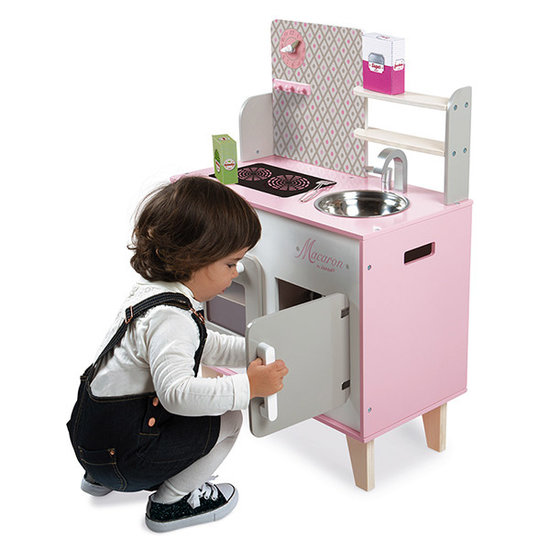 Janod speelgoed Janod houten keukentje Macaron