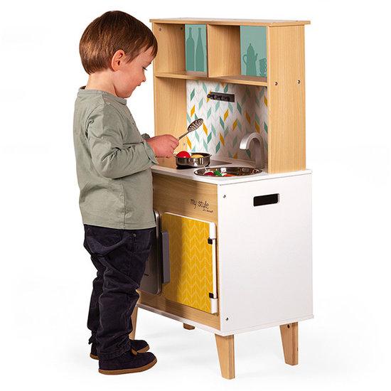 Janod speelgoed Janod houten keukentje My Style - peronaliseerbaar