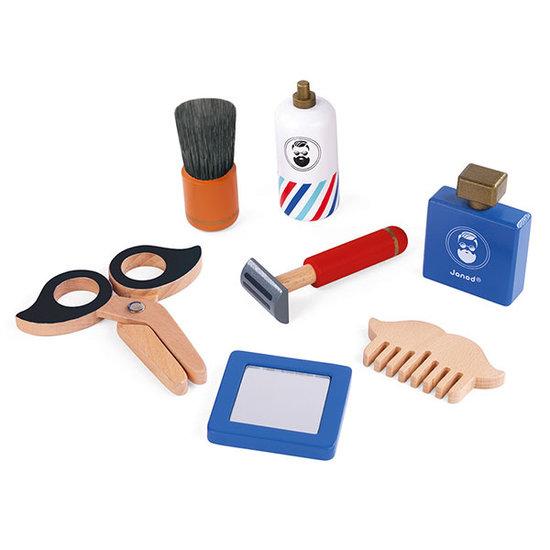 Janod speelgoed Janod De kleine barbier - scheerset