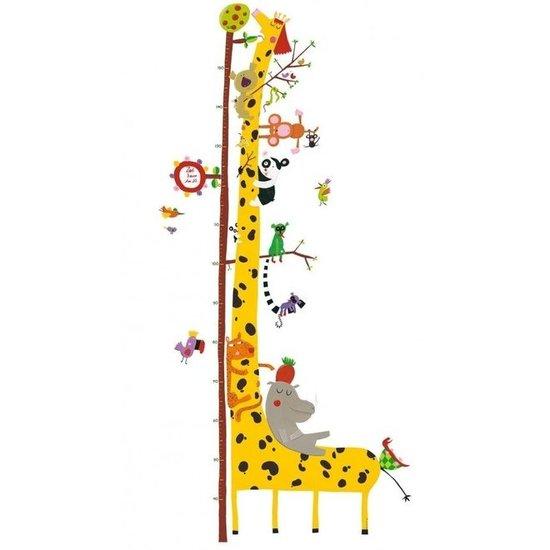 Djeco Muursticker groeimeter giraf - Djeco
