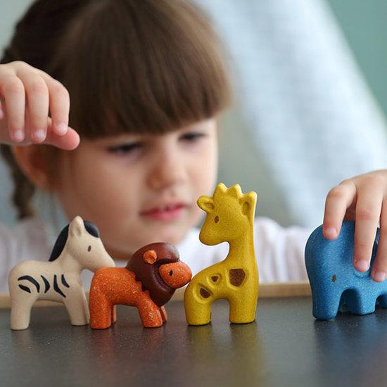 Plan Toys Plan Toys wilde dieren - speelgoeddieren +1jr