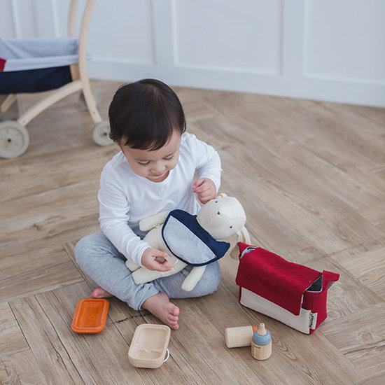 Plan Toys Plan Toys Geschirrset für Puppen +3Jahre