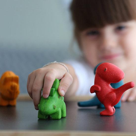 Plan Toys Plan Toys dino set - toy animals +1yr