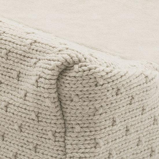 Jollein Jollein waskussenhoes Bliss knit nougat