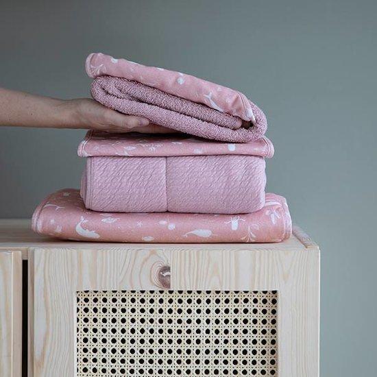 Little Dutch Little Dutch bandana slab - Ocean Pink