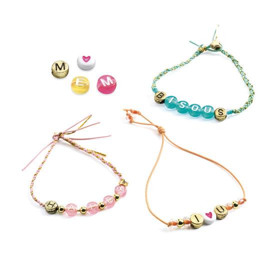 Djeco Djeco alphabet beads - jewelry