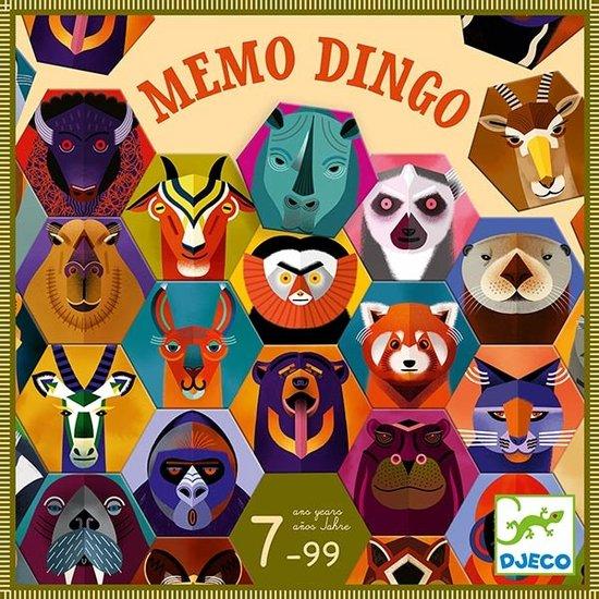 Djeco Djeco Memo Dingo - memory spel +7jr