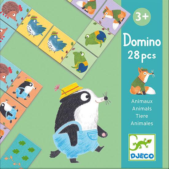 Djeco Djeco domino dieren +3jr