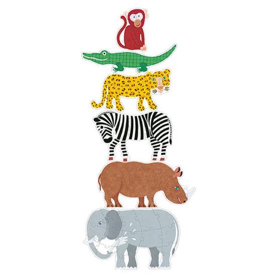 Djeco Djeco Jumbo puzzel Henri en vrienden 9-12-15st