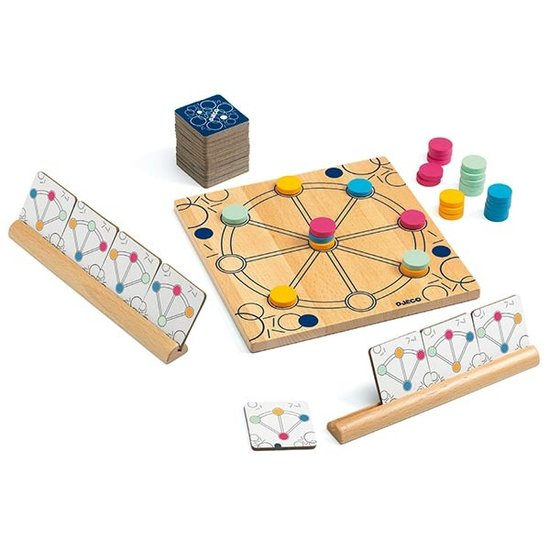 Djeco Djeco Quartino strategiespel +7jr