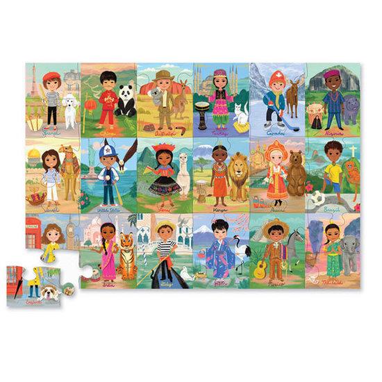 Crocodile Creek Crocodile Creek puzzel kinderen van de wereld 36st