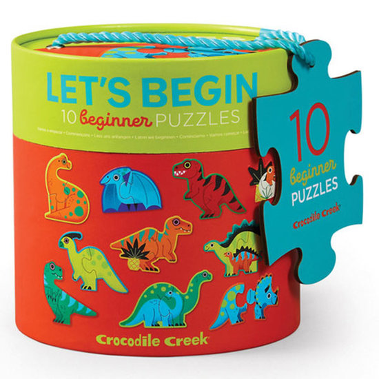 Crocodile Creek Crocodile Creek puzzel Dinosaurussen 10x 2st