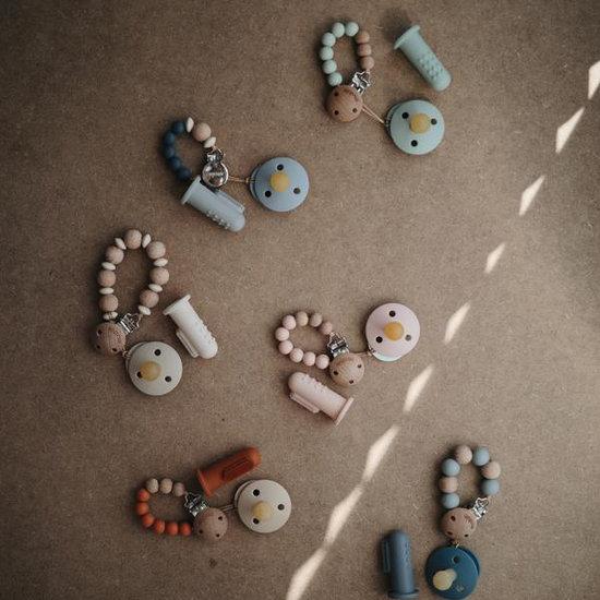 Mushie Mushie baby tandenborstel 2st - Shifting Sand + Clay