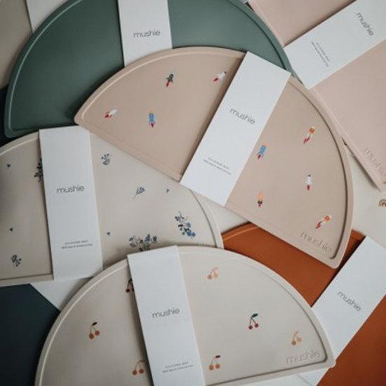 Mushie Mushie siliconen placemat Rainbow