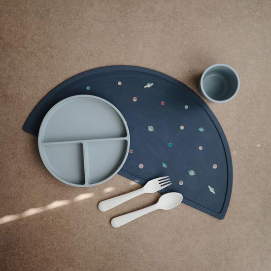 Mushie Mushie siliconen placemat Planets