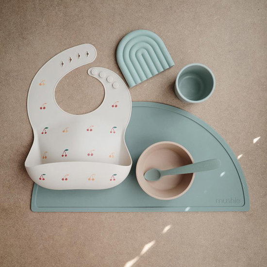 Mushie Mushie silicone placemat Dried thyme