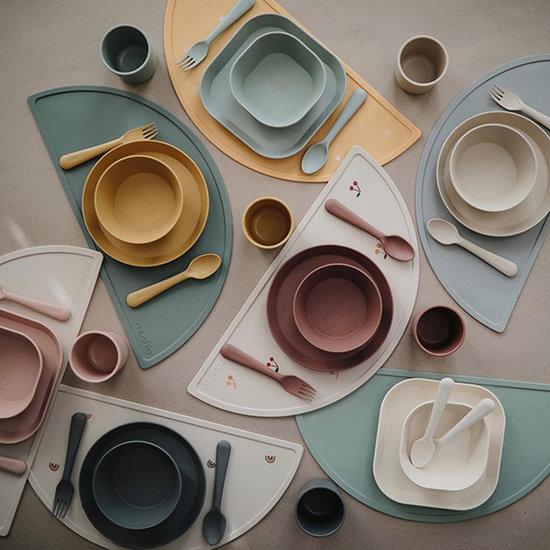 Mushie Mushie Silikon Tischset Cambridge Blue