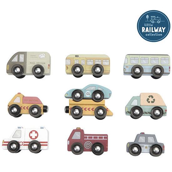 Little Dutch Little Dutch voertuigen set