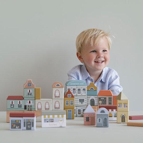 Little Dutch Little Dutch houten blokken stad