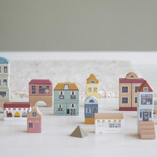 Little Dutch Little Dutch building blocks - City