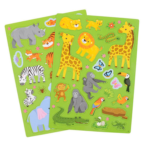 Tiger Tribe Tiger Tribe magneetboek - In the Jungle