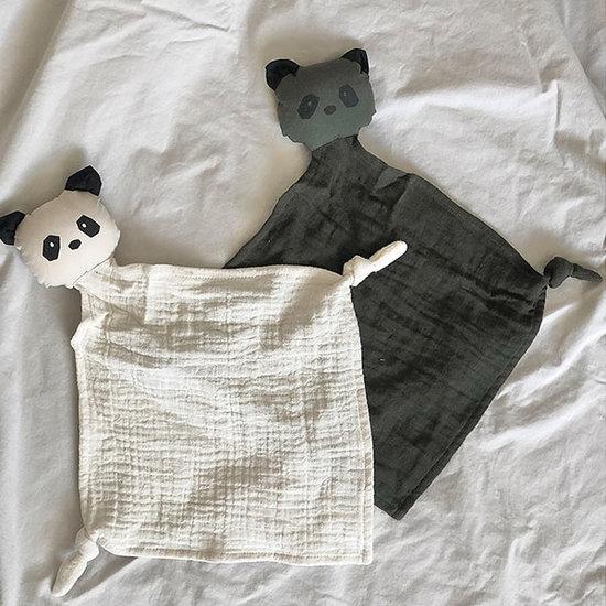 Liewood Liewood Yoko Schnuffeltüch panda Hunter green mix