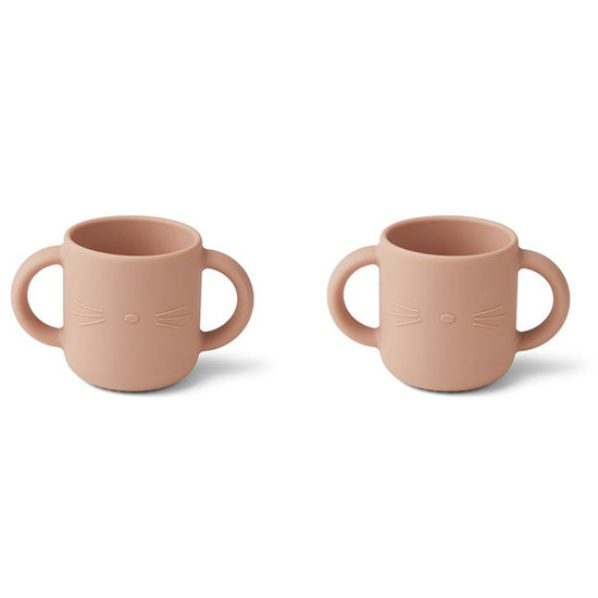 Liewood Drinking cups Gene cup Cat rose - Liewood