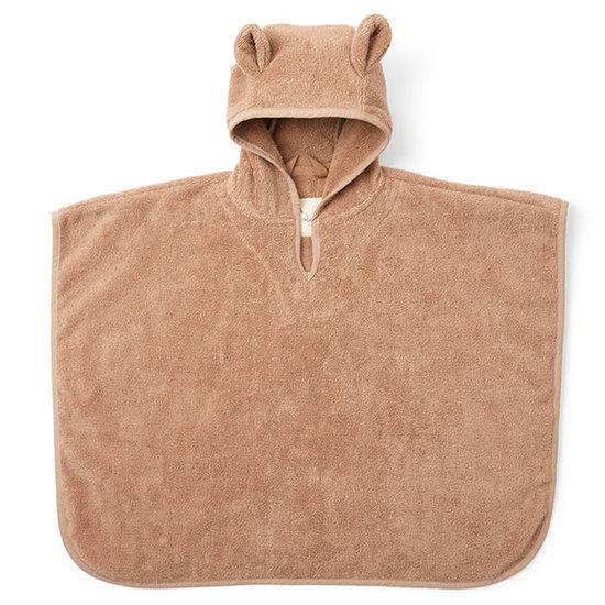 Konges Slojd Poncho towel Beige Tan - Konges Slojd