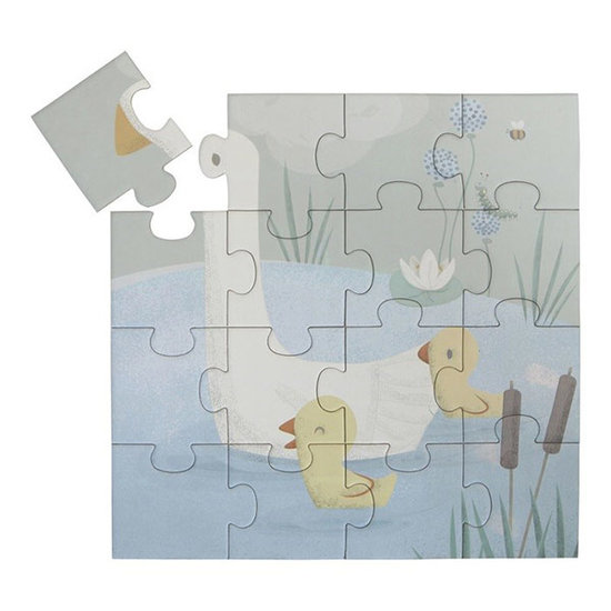 Little Dutch Little Dutch 4 in 1 puzzel Little Goose 4-6-9-16st