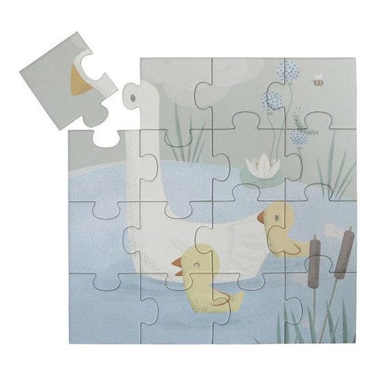 Little Dutch Little Dutch 4 in 1 puzzle Little Goose 4-6-9-16pcs