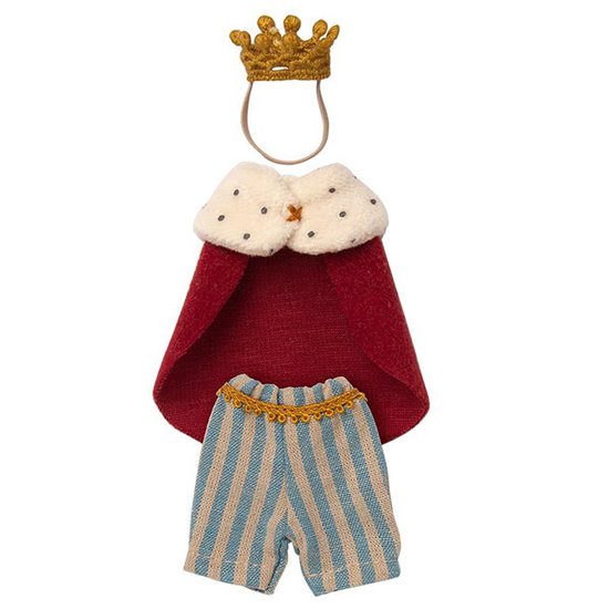 Maileg Maileg King mouse clothes