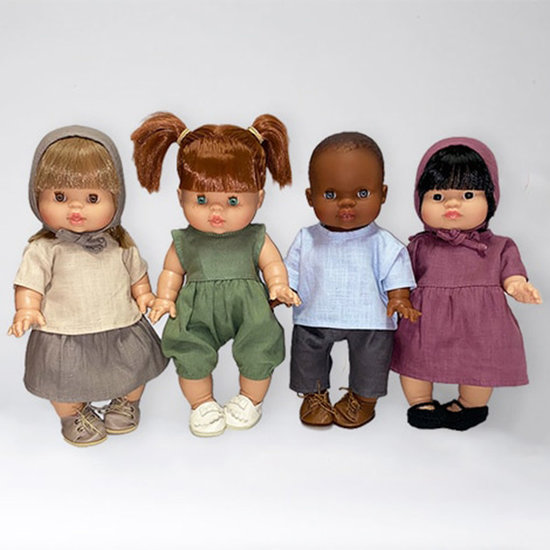 Minikane Babypop meisje Afrikaans Imani - Paola Reina